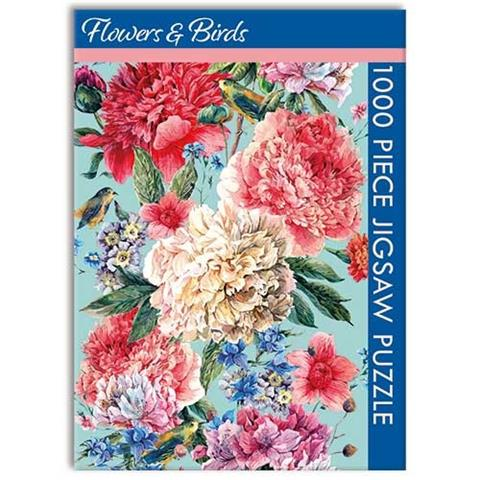 Flowers and Birds Jigsaw Puzzle ( 1000 Pieces )