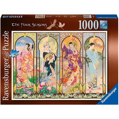 Four Seasons Jigsaw Puzzle ( 1000 Pieces )
