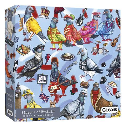 Pigeons of Britain Jigsaw Puzzle ( 1000 Pieces )