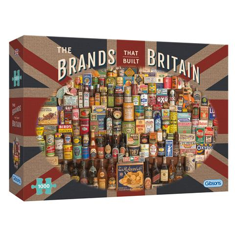 The Brands that Built Britain Jigsaw Puzzle ( 1000 Pieces )