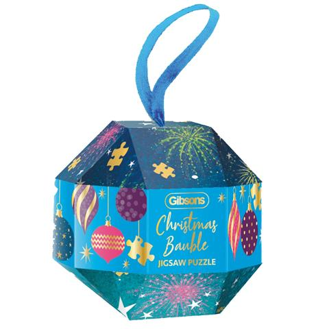 Christmas Bauble Jigsaw Puzzle ( 200 Pieces )