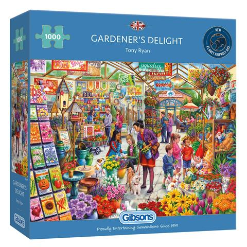 Gardeners Delight Jigsaw Puzzle ( 1000 Pieces )