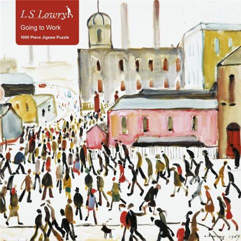 Going to Work by LS Lowry Jigsaw Puzzle ( 1000 Pieces )