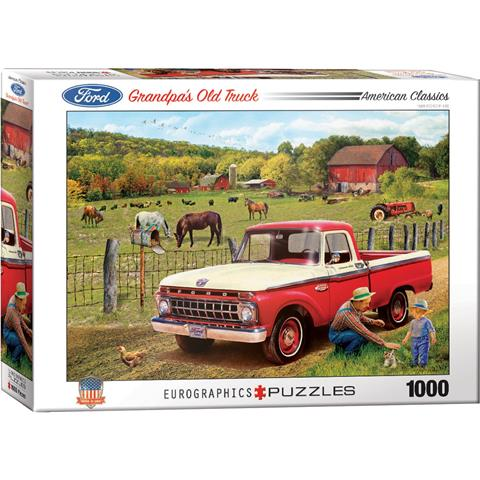 Grandpa's Old Truck Jigsaw Puzzle ( 1000 Pieces )