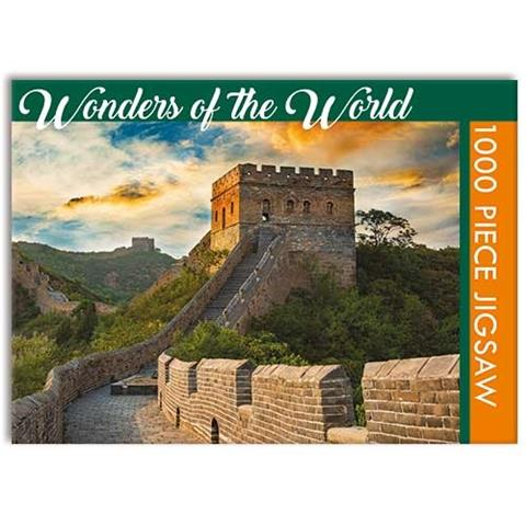 Wonders of the World - The Great Wall of China Jigsaw Puzzle ( 1000 Pieces )
