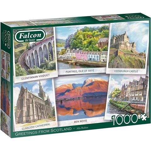 Greetings from Scotland Jigsaw Puzzle ( 1000 Pieces )