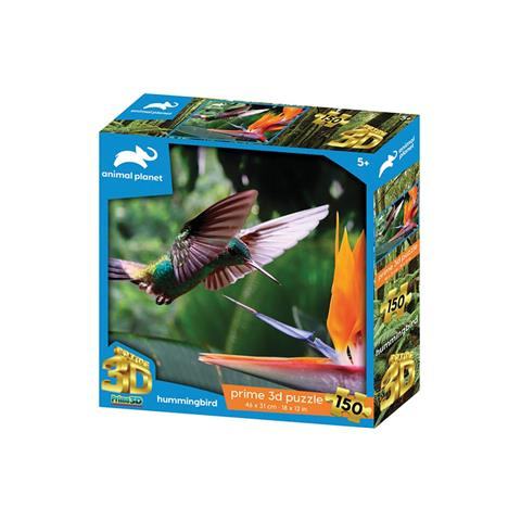Humming Bird Prime 3D Jigsaw Puzzle ( 150 Pieces )