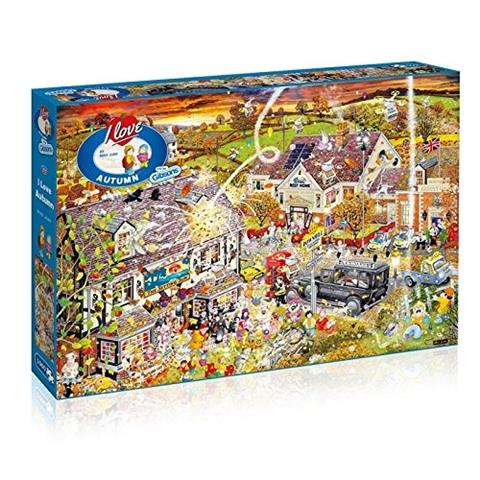 I love Autumn Jigsaw Puzzle ( 1000 Pieces )