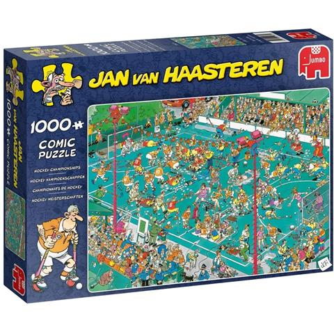 Hockey Championships by Jan Van Haasteren Jigsaw Puzzle ( 1000 Pieces )