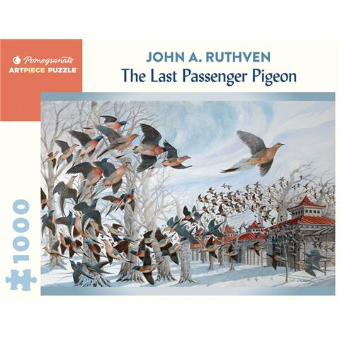 The Last Passenger Pigeon by John A Ruthven Jigsaw Puzzle ( 1000 Pieces )