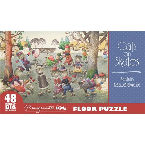 Cats on Skates Jigsaw Puzzle ( 48 XXL Pieces )