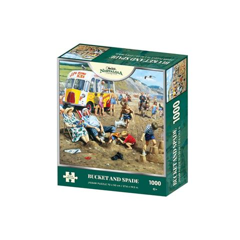 Bucket and Spade Jigsaw Puzzle ( 1000 Pieces )