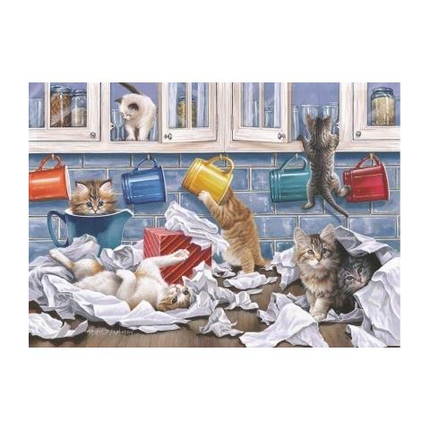 Kitty Litter Jigsaw Puzzle ( Big 250 Pieces )
