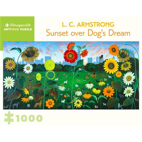 Sunset over Dogs Dream by L C Armstrong Jigsaw Puzzle ( 1000 Pieces )