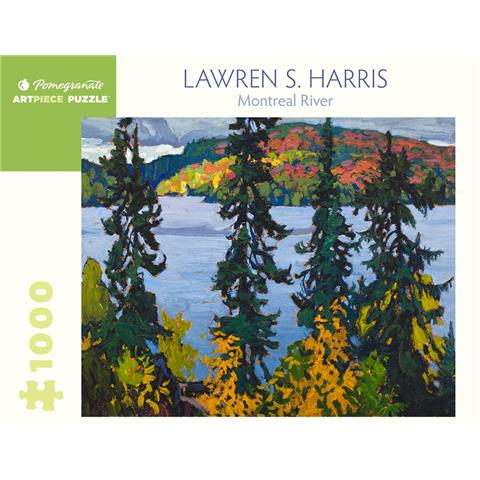 Montreal River by Lawren S Harris Jigsaw Puzzle ( 1000 Pieces )