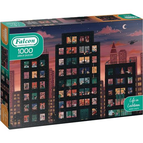 Life in Lockdown Jigsaw Puzzle ( 1000 Pieces )