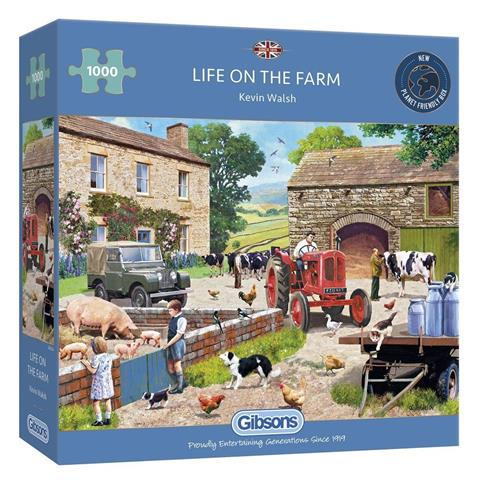 Life on the Farm Jigsaw Puzzle ( 1000 Pieces )