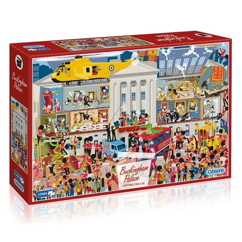 Lifting the Lid - Buckingham Palace Jigsaw Puzzle ( 1000 Pieces )