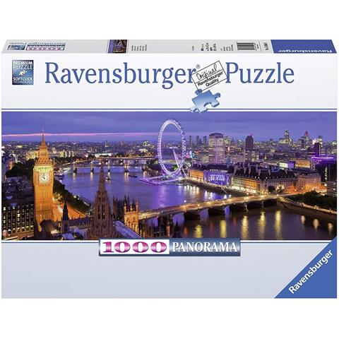 London at Night Panoramic Jigsaw Puzzle ( 1000 Pieces )