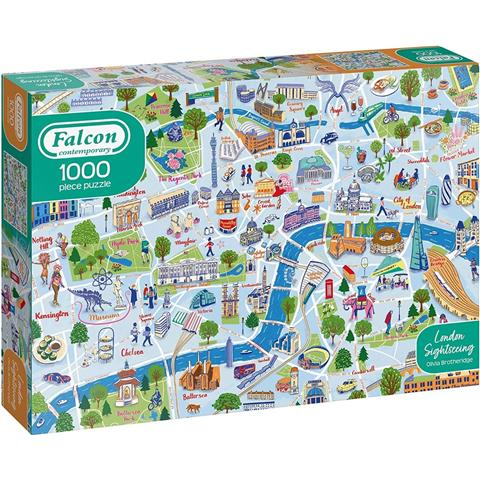 London Sightseeing Jigsaw Puzzle ( 1000 Pieces )