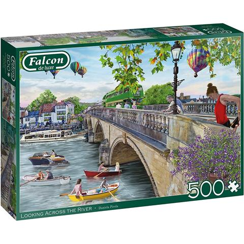 Looking Across the River Jigsaw Puzzle ( 500 Pieces )
