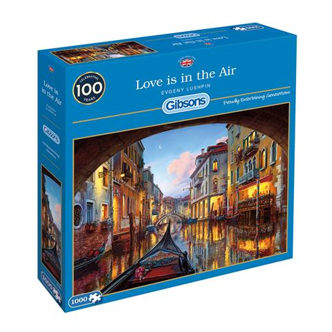 Love is in the Air Jigsaw Puzzle ( 1000 Pieces )