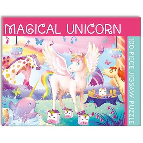 Magical Unicorn Jigsaw Puzzle ( 100 Pieces )