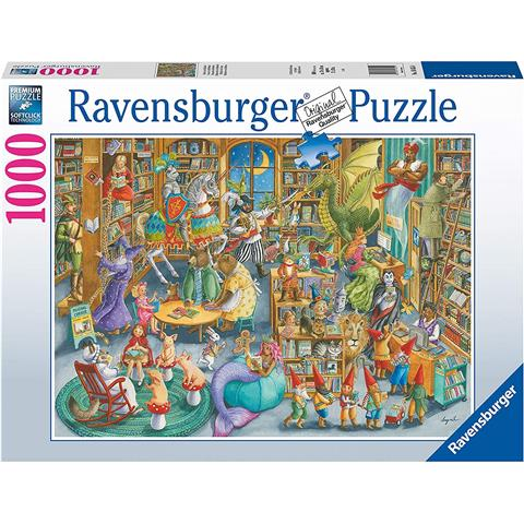 Midnight at The Library Jigsaw Puzzle ( 1000 Pieces )