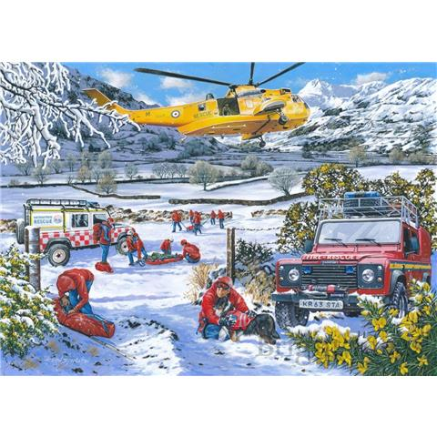 Mountain Rescue Jigsaw Puzzle ( 1000 Pieces )