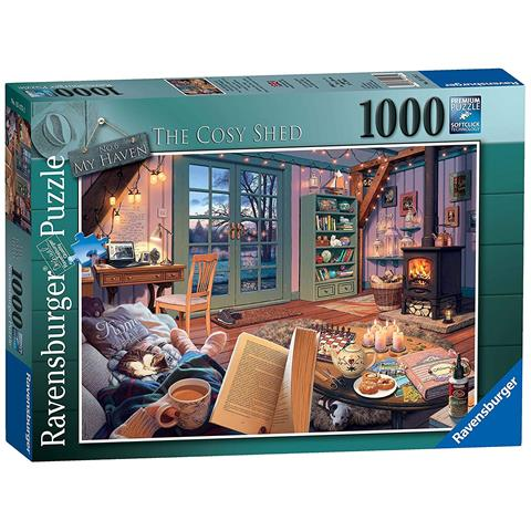 My Haven 6 - The Cosy Shed Jigsaw Puzzle ( 1000 Pieces )