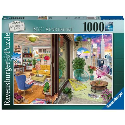 New York City Apartment Jigsaw Puzzle ( 1000 Pieces )