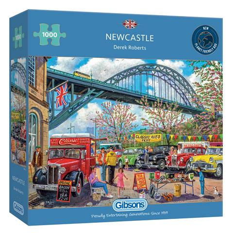 Newcastle Jigsaw Puzzle ( 1000 Pieces )