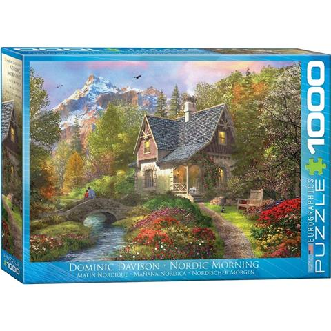 Nordic Morning Jigsaw Puzzle ( 1000 Pieces )