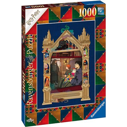 On the way to Hogwarts Harry Potter Jigsaw Puzzle ( 1000 Pieces )