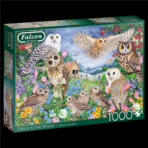 Owls in the Wood Jigsaw Puzzle ( 1000 Pieces )