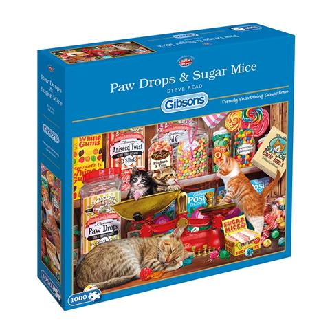 Paw Drops and Sugar Mice Jigsaw Puzzle ( 1000 Pieces )