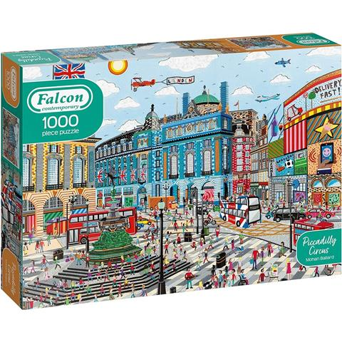 Piccadilly Circus Jigsaw Puzzle ( 1000 Pieces )