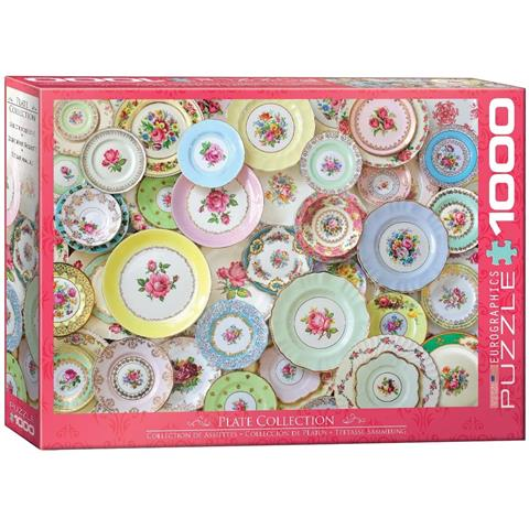 Plate Collection Jigsaw Puzzle ( 1000 Pieces )