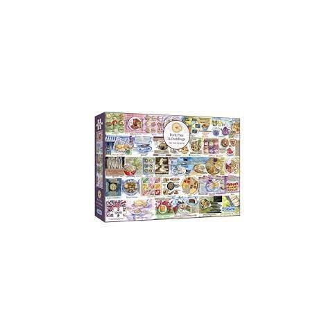 Pork Pies and Puddings Jigsaw Puzzle ( 1000 Pieces )
