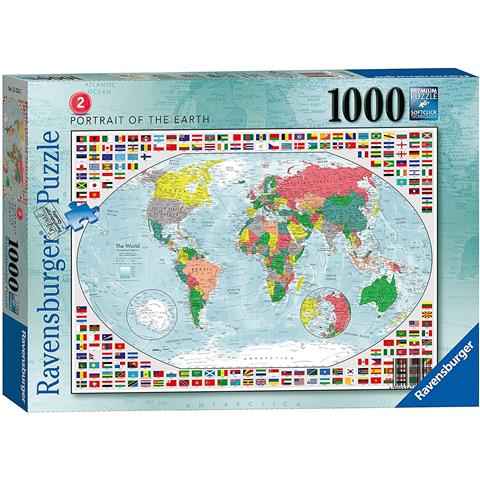 Portrait of the Earth Jigsaw Puzzle ( 1000 Pieces )