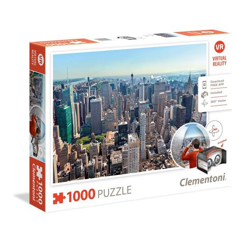 New York Virtual Reality Jigsaw Puzzle ( 1000 Pieces )