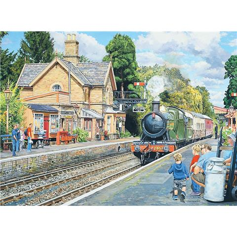 Railway Heritage 2 - Horsted Keynes Station & Hampton Loade Station Jigsaw Puzzle ( 2 x 500 Pieces )