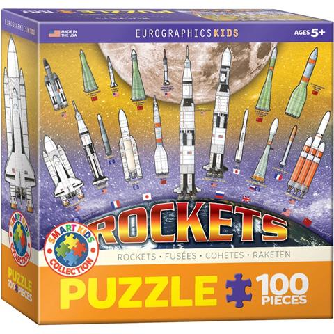 Rockets Jigsaw Puzzle ( 100 Pieces )