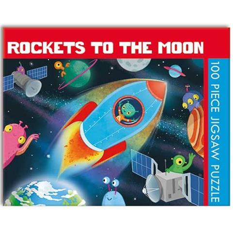 Rockets to the Moon Jigsaw Puzzle ( 100 Pieces )