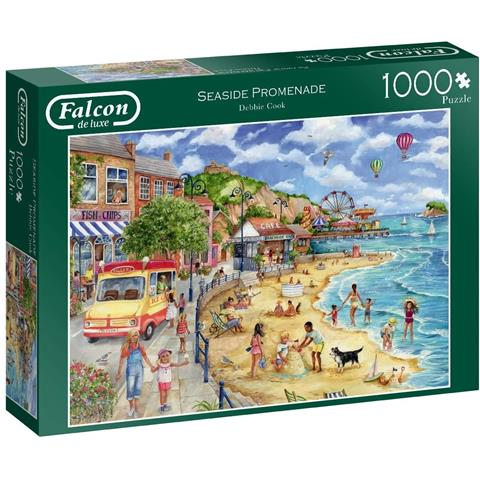Seaside Promenade Jigsaw Puzzle ( 1000 Pieces )
