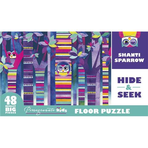 Hide and Seek Jigsaw Puzzle ( 48 XXL Pieces )
