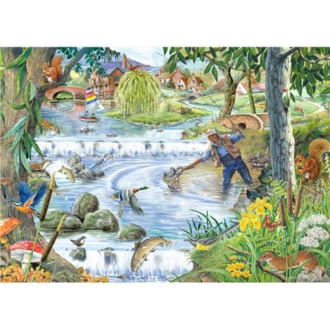 Sparkling Waters Jigsaw Puzzle ( Big 250 Pieces )