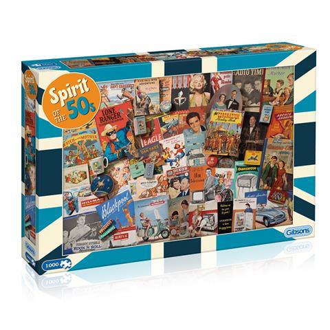 Spirit of the 50's Jigsaw Puzzle ( 1000 Pieces )