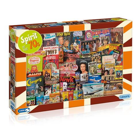 Spirit of the 70's Jigsaw Puzzle ( 1000 Pieces )