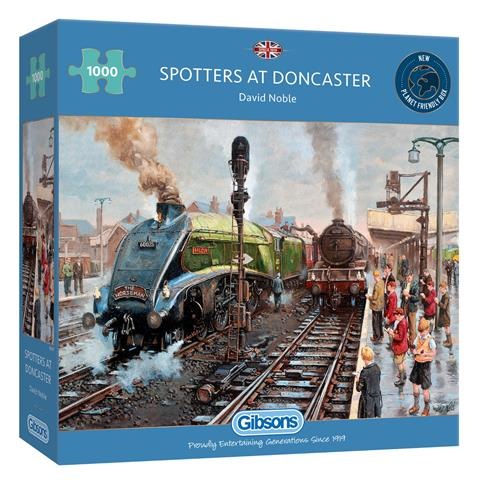 Spotters at Doncaster Jigsaw Puzzle ( 1000 Pieces )